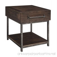 Ashley Furniture Signature Design - Starmore Rectangular End Table - Rustic Contemporary Side Table - Brown - B06XKP8HGZ