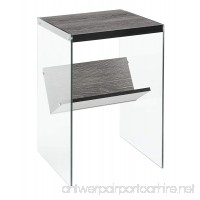 Convenience Concepts Soho End Table  Weathered Gray - B01GVP5ITA