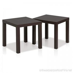 Furinno 2FRN001EX Classic End Table Espresso - B01K8JECGU
