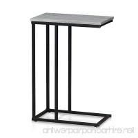 Furinno FM4563ST-1DO Modern Lifestyle Side Table Dark Oak - B076GTGDGV