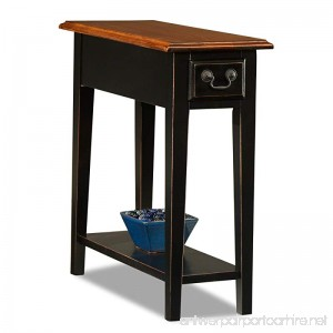 Leick Chair Side End Table Slate Finish - B001OM4WH0