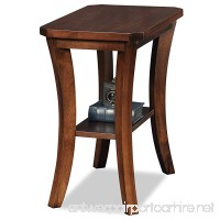 Leick Furniture Boa Collection Solid Wood Narrow Chairside End Table - B00HSG01EY