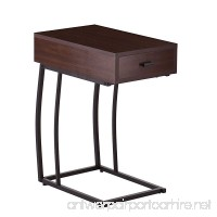 Porten Side Table w/Power & USB - B00MHTHMAI