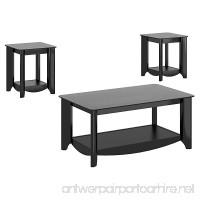 Bush Furniture Aero Coffee Table with End Tables - B00JZQHVM0