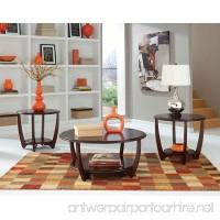 Standard Furniture Seattle II 3-Pack Accent Tables Dark Cherry - B00A315JHK