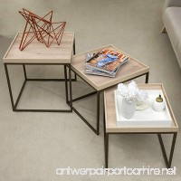 Adam and Illy VAL1681 Valentin Side Table Iconic Oak - B07CKGTJ1T