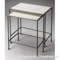 Butler 2-Pc Nesting Table Set - B06XB9FCQ7