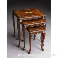Butler specality company BUTLER 2306101 THATCHER OLIVE ASH BURL NEST OF TABLES - B003XKQUW6