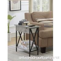 Convenience Concepts 161859C1 Flip Top Table  Faux Birch - B07F16Q9KQ