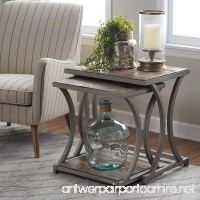 Edison Reclaimed Wood Nesting Tables End Tables - B0182MS1PS