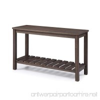 Emerald Home Furnishings T805-02 Wood Haven Sofa Table Occasional Collection Standard Dark Brown - B079G1PGVZ