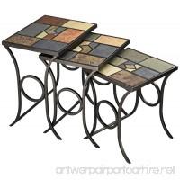 Hillsdale Pompeii Nesting Tables - B000F3O742