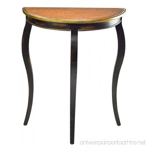 Safavieh American Homes Collection Westhampton Rustic Black and Walnut Nesting Tables - B004F54FL6