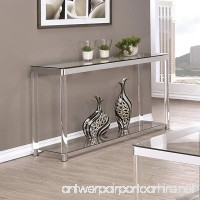 Coaster Home Furnishings 720749 Sofa Table Chrome - B01N4BUCHQ
