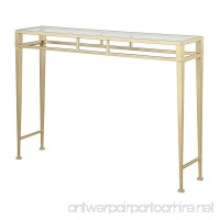 Convenience Concepts Coast Collection Julia Hall Console Table Gold - B016YHBX6M