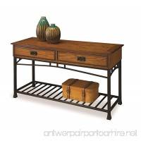 Home Styles 5050-22 Modern Craftsman Sofa Table Distressed Oak Finish - B005H7Z3NU