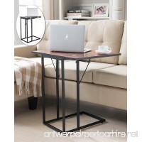 Kings Brand Furniture Expandable Magazine Snack Side Sofa Table - B01IU55M22