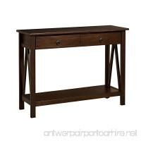 Linon Home Decor Titian Antique Console Table - B007N14320
