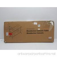 Z-Line Designs Massadona Console Table  dark bronze - B00NBG2IMI