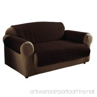 Innovative Textile Solutions Microfiber Sofa Furniture Cover  Chocolate - B0067VHNNS