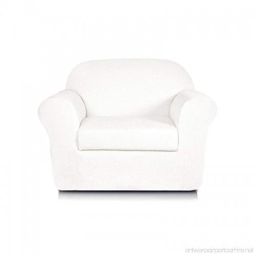 Subrtex 2-Piece Jacquard Spandex Stretch Sofa Slipcovers ...