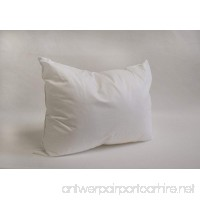 "12"" x 16"" Pillow Form White Cotton/Polyester - B01ASECBQS"