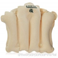 Earth Therapeutics Terry Covered Bath Pillow  Natural - B07CKDRCH2