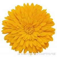 "Fennco Styles 3D Sunflower Decorative Throw Pillow 13"" Round (Gold  Case+Insert) - B07C7J5VR6"