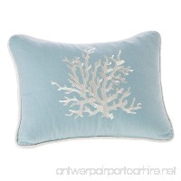 Harbor House Coastline Fashion Cotton Throw Pillow  acquard Oblong Decorative Pillow  12X16  Blue - B00C0D9SCQ
