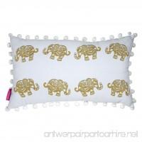 Lilly Pulitzer Medium Pillow  Elephant - B076B19M4X