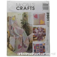 McCall's Patterns M3901 Rag Throw and Pillow One Size Only - B003QNDK5K