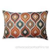 Pillow Perfect Flicker Jewel Rectangular Throw Pillow - B00DFU3JKU