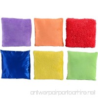 Textured Pillows Set of 6 Each with a Different Sensorial Experience - B0035MGCEI