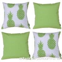 Vantextile 4PCS Furniture Decorate Pillow Cover  100% Polyester Outdoor Waterproof Cushion Set  Invisible Zipper Safe and Comfortable Cushion Cover  Hand/Machine Wash  18x18 inch (Insert Not Included) - B075KSGTQD