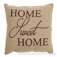 VHC Brands Home Sweet Home Pillow 12x12 - B06WW7HDWD