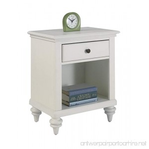 Home Styles Bermuda Night Stand White Finish - B008BDPE8G