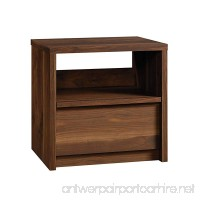"Sauder 420944 Nightstand Night Stand  24.72"" L X 19.13"" W x 24.1"" H  Grand Walnut - B01MUG56N1"