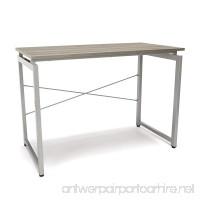 Essentials Office Desk - Floating Top Computer Desk and Workstation and Workstation  Driftwood (ESS-1000-DWD) - B071ZZJ5FK