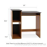 Furinno 99914R1LC/BK Econ Multipurpose Computer Writing Desk  Light Cherry/Black - B00E3V4XWS