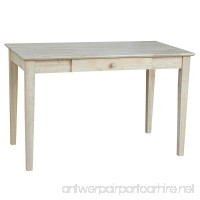 International Concepts OF-41 Writing Desk Unfinished - B0029LHTY8