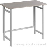 OneSpace 50-1030QA01 No Assembly Folding Desk with Dual USB Charging Ports White - B07D5T9CRB