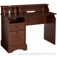 Sauder Graham Hill Desk  Autumn Maple Finish - B002QGQH9O