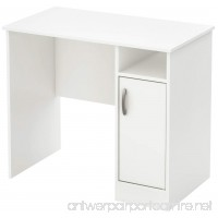 South Shore Axess Work Desk  Small  Pure White - B00CLDS39Y