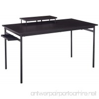 Zinus Port Computer Desk/Workstation in Espresso  Large - B0785N7SY7