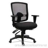 Alera ALEET4217 Etros Series Mid-Back Multifunction with Seat Slide Chair Black - B078WYW1ZV