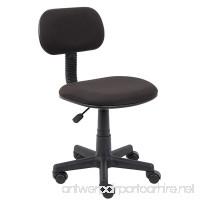 Boss Office Products B205-BK Fabric Steno Chair in Black - B0019QKK5Y