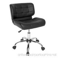 Calico Designs 10658 Modern Black Crest Office Chair Black - B072KDRZHP