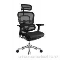 Eurotech Seating Ergo Elite ME22ERGLT High Back Chair  Black - B01N30DWAV