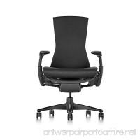 Herman Miller Embody Chair - Graphite Frame/Black Rhythm Textile - B01DGM7ZII