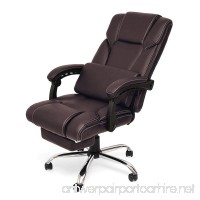 High-Back Ergonomic Gaming Chair Executive Swivel Computer Desk Chairs (Brown 6085) - B07F6DWV3N